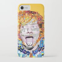 ed sheeran iPhone & iPod Cases featuring Ed Sheeran by Jack