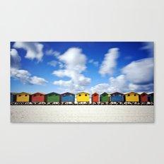 Muizenberg Beach Canvas Print