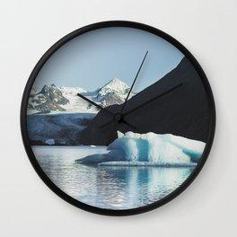 Grewingk Glacier Wall Clock