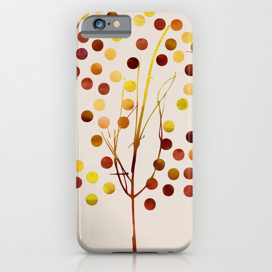Tree of Life_Amber by Jacqueline and Garima iPhone & iPod Case