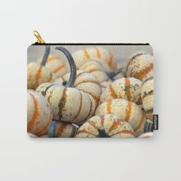 White & Orange Gourds Carry-All Pouch