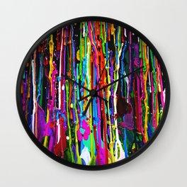 Colorfall Wall Clock