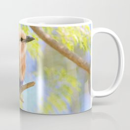 Sunshiny  Roller Bird by Reay of Light Photography Coffee Mug