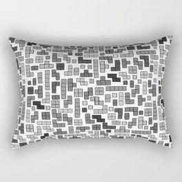 letter k - gaming blocks Rectangular Pillow