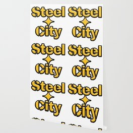 Pittsburgh Steel City Start Gold Gifts Wallpaper