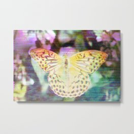 Electronic Wildlife Metal Print