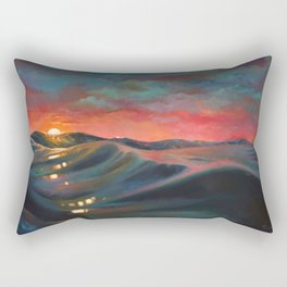 Before The Night Storm Rectangular Pillow