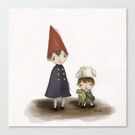 Wirt and Greg  Canvas Print