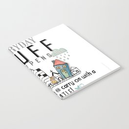 Stuff Happens - Deal with it Notebook