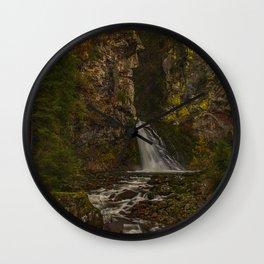Cascate di Riva Wall Clock