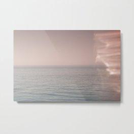 Ocean Leeks Metal Print
