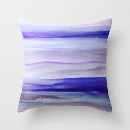 Purple Mountains' Majesty Throw Pillow