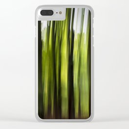 Woodland Insanity Clear iPhone Case