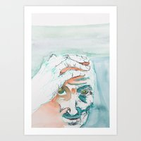 Old Thoughts  Art Print