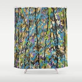 Forest Inner Trail Shower Curtain