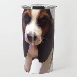Bruno the Basset Travel Mug