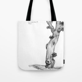 Gnarly Oak Tree Tote Bag