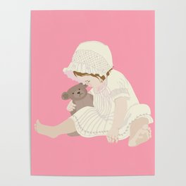 BABY GIRL PINK Poster