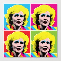 Rose Nylund x 4 Canvas Print