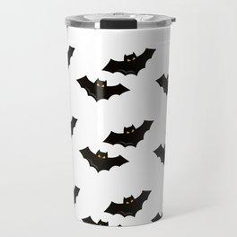 Halloween Flying Bat Travel Mug