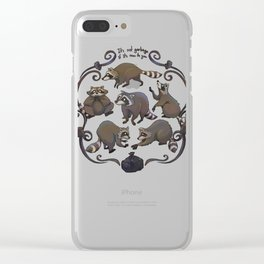 It's not garbage! Clear iPhone Case