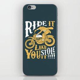 stole it iPhone Skin