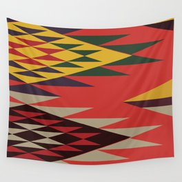 American Native Pattern No. 131 Wall Tapestry