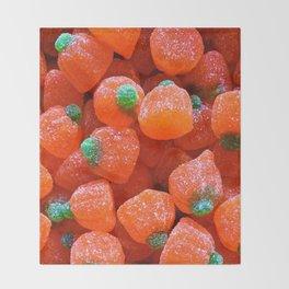 Pumpkin Candy Throw Blanket