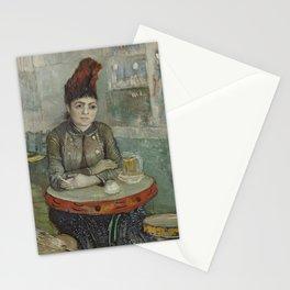 Agostina Segatori in Le tambourin Stationery Cards