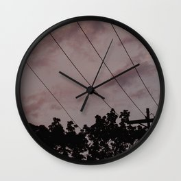 Candy Clouds Wall Clock