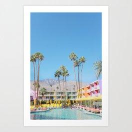 PS, Saguaro Hotel 1 Art Print