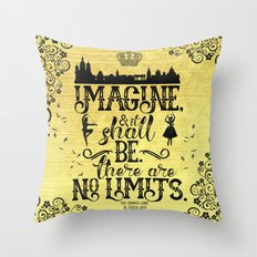 The Crown's Game - No Limits Throw Pillow