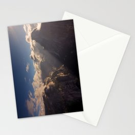 Sunrays Over Half Dome Stationery Cards