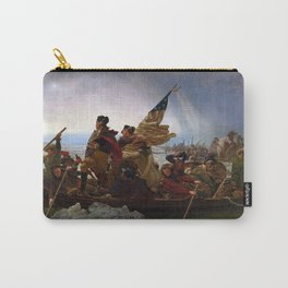 Washington Crossing the Delaware by Emanuel Leutze Carry-All Pouch