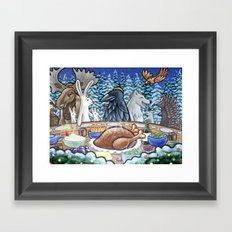 Everyone Is Invited To The Feast Framed Art Print