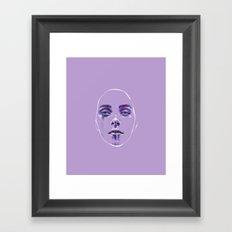 Masks We Wear Framed Art Print