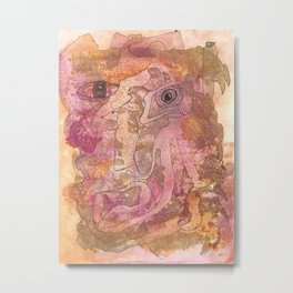 You Have The Power Metal Print