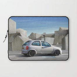 Is that concrete all around or is it in my head? Laptop Sleeve