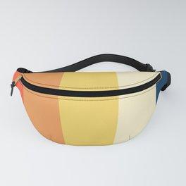 Yoshikatsu - Colorful 70s Retro Stripes Fanny Pack