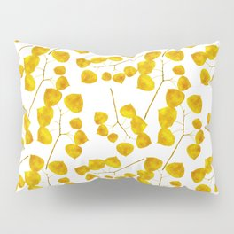 Gold Leaf Art Pillow Sham