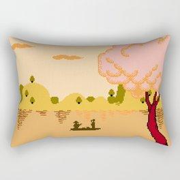 CROSSING THE RIVER Rectangular Pillow