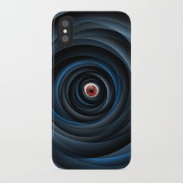 Eye of the cyclone iPhone Case