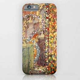Classical Spring Floral Garden of Galileo Chini by Giorgio Kienerk iPhone Case