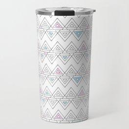 Abstract pyramid Travel Mug