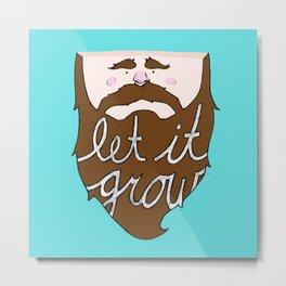 Let it Grow Metal Print