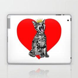 Kitty Heart Laptop & iPad Skin