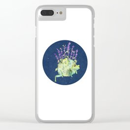 Flora Toad Clear iPhone Case