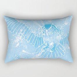 A Mild Breeze (Baby Blue) Rectangular Pillow
