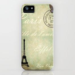 J'aime la France iPhone Case