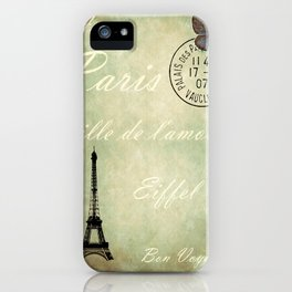 J'aime la France iPhone Case